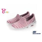 Skechers 2019最新健走鞋 GOWALK 5 成人女款 曾之喬代言 運動鞋 S8235#粉紫◆OSOME奧森鞋業