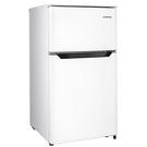免運費+基本安裝 TATUNG 大同 92L一級能效 雙門小冰箱/双門冰箱 TR-B92HM