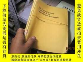 二手書博民逛書店7652罕見approach to operations res