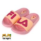 FILA KIDS MD 拖鞋 中童 粉紅 NO.R6977(2-S828V-550)