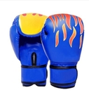 nc-兒童款火焰藍色散打拳套自由搏擊格鬥沙袋男女泰拳專業訓練拳套