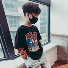 男童長袖t恤2020新款秋裝兒童上衣童裝打底衫中大童假兩件洋氣潮  【端午節特惠】
