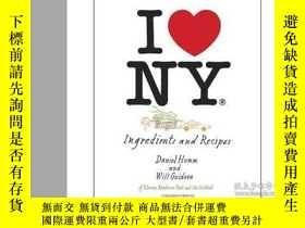 二手書博民逛書店I罕見Love New York Ingredients and Recipes我喜歡紐約的食材和食譜Y210