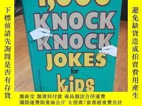 二手書博民逛書店1,000罕見Knock Knock Jokes for Kid