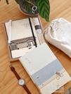 手帳文具禮盒套裝小清新文藝記事本日式貓咪旅行手賬本辦公禮品本子創意學生筆記 原本良品