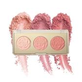 Milani Rose Blush Trio 三色浮雕玫瑰腮紅盤 01 Flowers Of Love 12g
