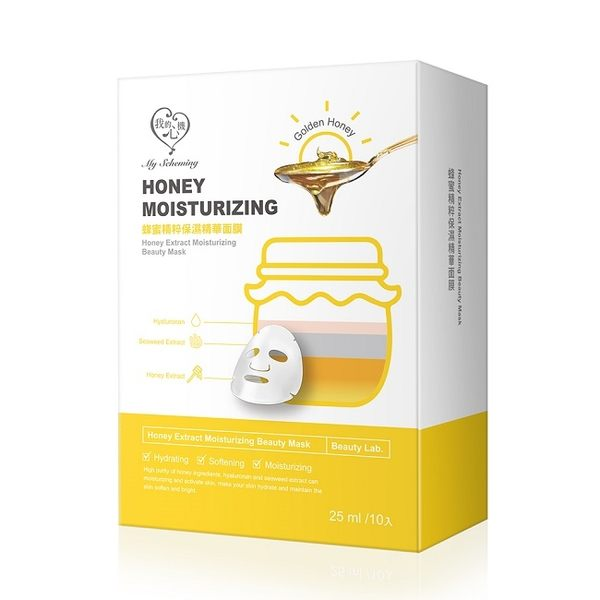 我的心機-蜂蜜精粹保濕精華面膜(25ml)10片入