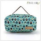 收納包 防水包 雨朵小舖U141-025 面紙收納包-藍貓頭鷹圖鑑淺06039 funbaobao