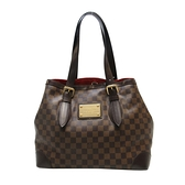 LV 棋盤格肩背托特包 HAMPSTEAD MM N51204 【BRAND OFF】
