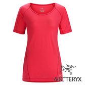 Arc'teryx 始祖鳥 Lana 美麗諾短袖 圓領T恤 女 『仙人掌花紅』17117
