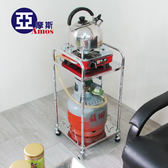不锈鋼單茶車【TBW002】不繡鋼茶桌 休閒簡易茶車 沏茶茶几 附活動輪 收納架 Amos
