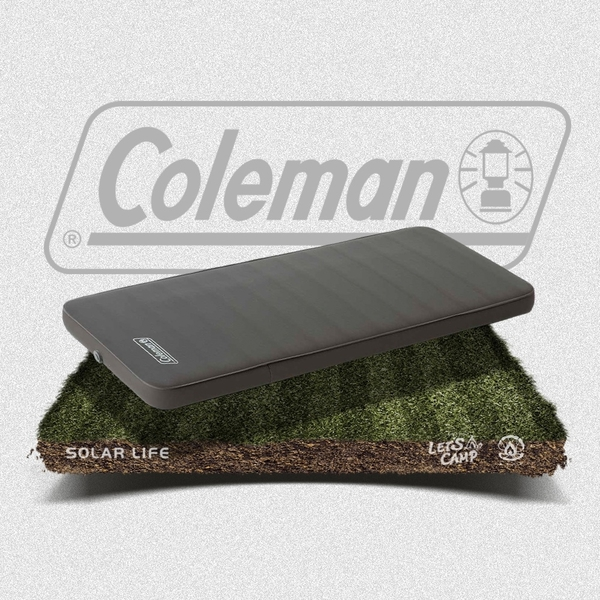 Coleman CM露營者單人自動充氣氣墊床.自動充氣睡墊 單人充氣墊 露營充氣床墊 防潮帳篷睡墊 加厚10cm