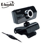 E-books 網路HD高畫質LED燈攝影機W15【愛買】