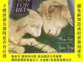 二手書博民逛書店英文原版漫畫:Time罕見for Bed: Lap-Sized