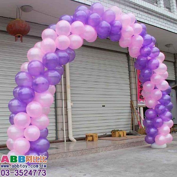 A0808☆氣球拱門支架組_8節_300cm#生日#派對#字母#數字#英文#婚禮#氣球#廣告氣球#拱門#動物
