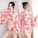 情趣睡衣 情趣內衣 情趣用品 日系和服制服櫻花印花cosplay角色扮演 透視性感睡衣女情趣內衣褲