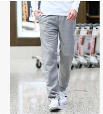 運動褲秋季加肥加大碼純棉休閒褲男直筒寬鬆長褲工裝褲薄款運動褲 新品