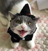 寵物帽子貓咪頭飾項圈寵物節日黑色項圈【不二雜貨】