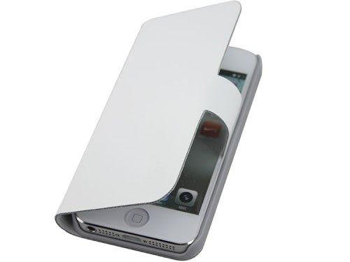 【真皮世家】Apple iPhone 5 / 5S / iPhone SE 左右開支架超薄真皮皮套