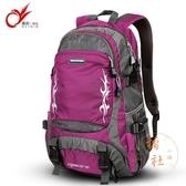 30L大容量戶外登山背包後背包旅行包女大容量休閒背包【橘社小鎮】