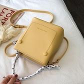 斜背包包女新款簡約質感水桶包