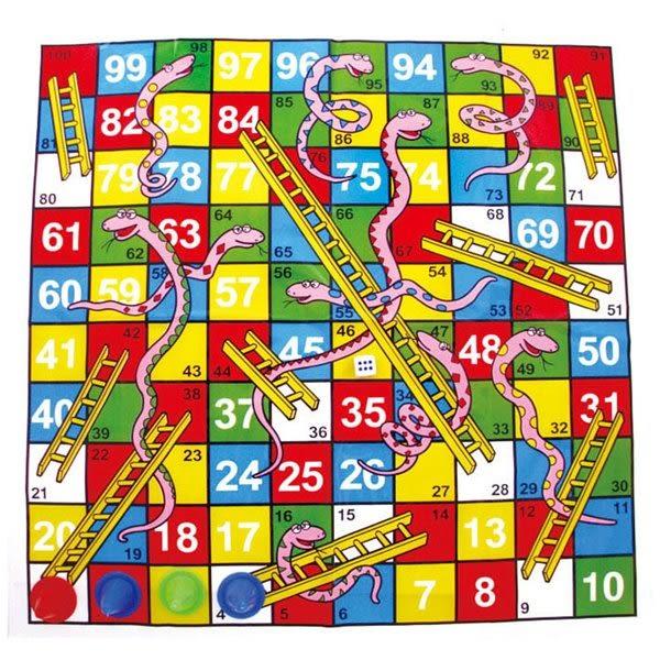 蛇梯棋 桌遊 兒童益智遊戲 (購潮8)