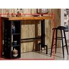 吧檯桌椅 SB-410-1 庫克4.6尺貨櫃造型吧台桌【大眾家居舘】