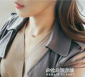 韓版簡約個性心形吊墜鎖骨鍊s925純銀項鍊女森繫學生桃心生日禮品  朵拉朵衣櫥