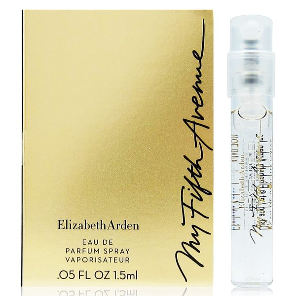 Elizabeth Arden雅頓 我的第五大道淡香精 針管1.5ml(西班牙進口) [QEM-girl]