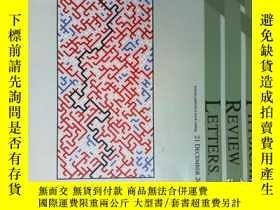 二手書博民逛書店Physical罕見Review Letters 2012 12