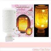 嚕嚕米 小夜燈 雙面 插電式 小不點 Moomin 日本正版 該該貝比日本精品 ☆