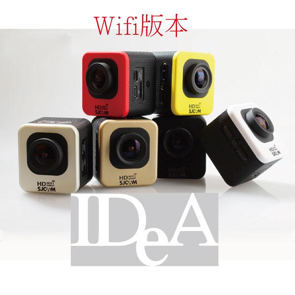戶外運動型 wifi版本 防水相機 攝影機 防水行車記錄器機車 1080P DV 空拍 超廣角 魚眼 wifi