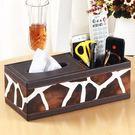 面紙盒-歐式家居皮質紙巾盒餐巾抽紙盒面紙盒紙抽盒創意車用布藝 滿598元立享89折