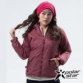 PolarStar 女 鋪棉保暖外套『暗紅』 P18214 戶外 休閒 登山 露營 保暖 禦寒 防風 鋪棉