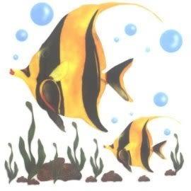 美飾熱帶魚轉印膠片(6入)