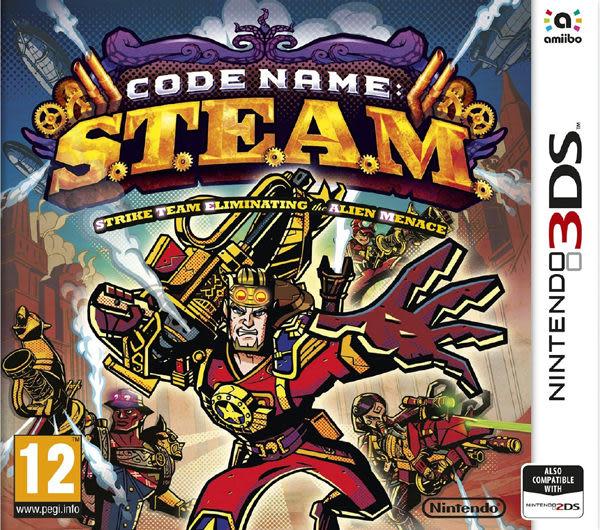 3DS Code Name: S.T.E.A.M. 代號 S.T.E.A.M.(美版代購)