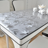 PVC防水防燙軟質玻璃桌布塑料桌墊免洗茶幾墊台布