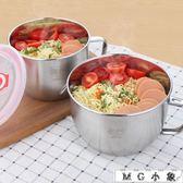 不銹鋼泡面碗帶蓋便當盒