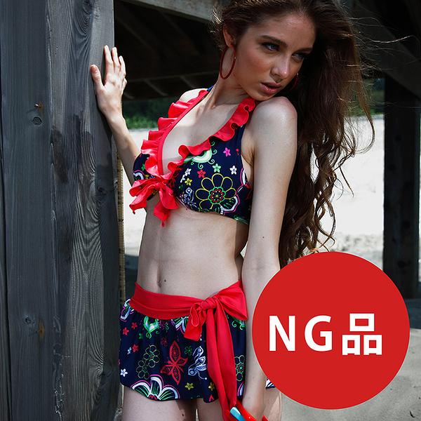 ≡MARIUM≡ MAR-2302 大女三件式bikini-NG商品