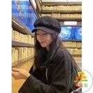 貝雷帽 女復古鴨舌帽韓國貝蕾帽秋冬畫家帽八角帽 樂淘淘