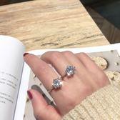 戒指 奢華鉆戒簡約六爪鉆石戒指情侶對戒不掉色結婚戒指指環 巴黎春天