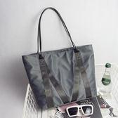 手提包 尼龍女包帆布包韓版防水牛津布簡約單肩包休閒手提大包包 可卡衣櫃