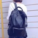 雙肩包女韓版2020新款時尚百搭休閒軟皮大容量書包旅游旅行包背包 依凡卡時尚