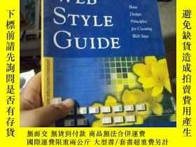 二手書博民逛書店Web罕見Style Guide: Basic Design P