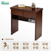 IHouse-威格 二抽簡易書桌