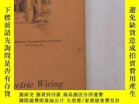 二手書博民逛書店民國:Electric罕見Wiring【USA】 房屋工程建造系列Y23766