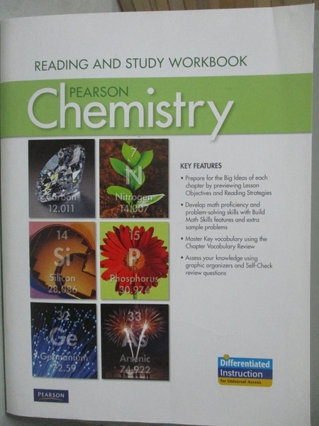 【書寶二手書T2/大學理工醫_ZHV】Chemistry2012-Reading and Study Workbook_