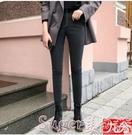 鉛筆褲煙灰色牛仔褲女高腰秋冬季2020新款九分緊身小腳加厚褲子外穿 店長推薦