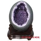 天然紫水晶洞 K (17.36公斤聚寶盆) 石頭記