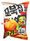 【吉嘉食品】ORION 好友麗 烏龜玉米脆餅(麻辣) 每包80公克,產地韓國 {292918}[#1]